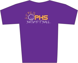 PHS Basketball tshirt